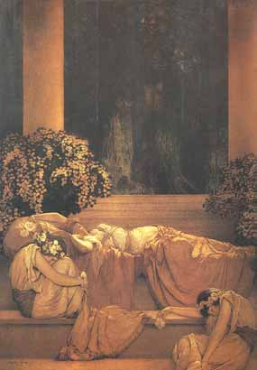 Maxfield Parrish - Sleeping Beauty