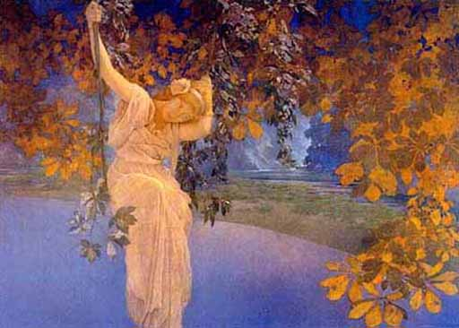Maxfield Parrish - Reverie