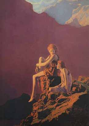Maxfield Parrish - Contentment