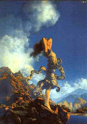 Maxfield Parrish - Ecstacy