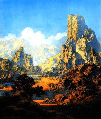 Maxfield Parrish - Arizona